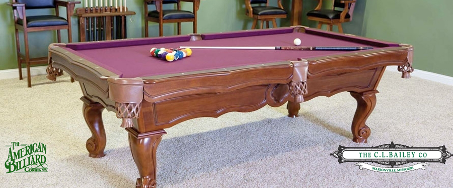 The American Billiard Company - American pool table company